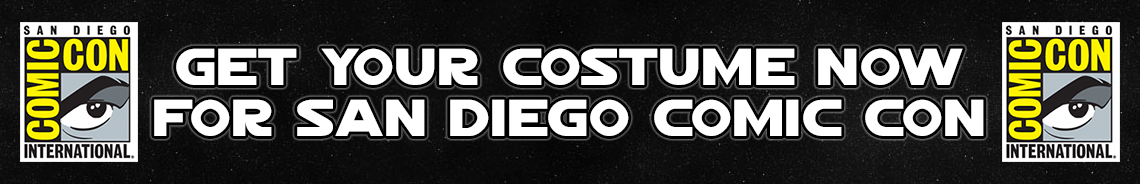Get your costume now for San Diego Comic-Con 2018