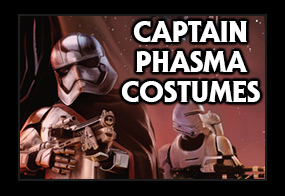 Star Wars Episode 7 Captain Phasma Costumes
