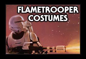 Star Wars The Force Awakens First Order Flametrooper Costumes