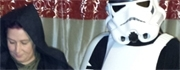 Stormtrooper Armor and Sith Anakin Costume Review from Lee and Pip
