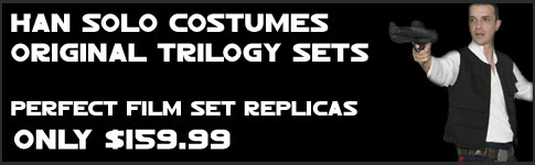 Star Wars Han Solo Replica Trilogy Costumes available at www.JediRobeAmerica.com