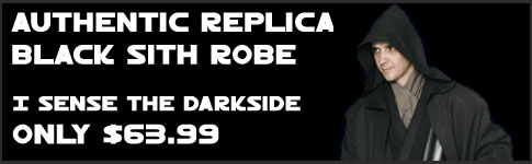Star Wars Black Sith Robes