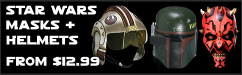 Star Wars Masks and Helmets available at www.JediRobeAmerica.com