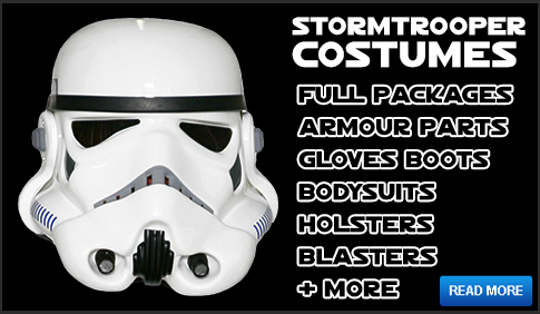 Star Wars Stormtrooper Costume Armour Full Packages available at www.JediRobeAmerica.com