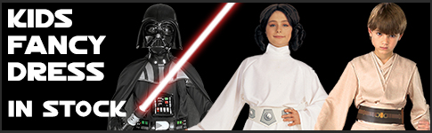 Star Wars Childrens Fancy Dress Costumes available at www.Jedi-Robe.com - The Star Wars Shop