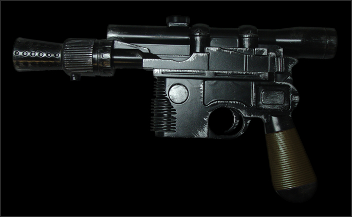 Star Wars Han Solo DL-44 Blasters available at www.Jedi-Robe.com - The Star Wars Shop
