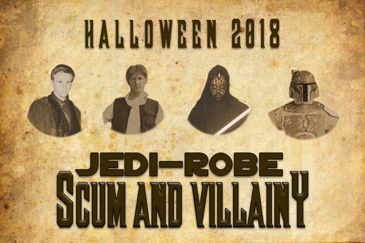 Star Wars Halloween 2018 costumes from JediRobeAmerica.com