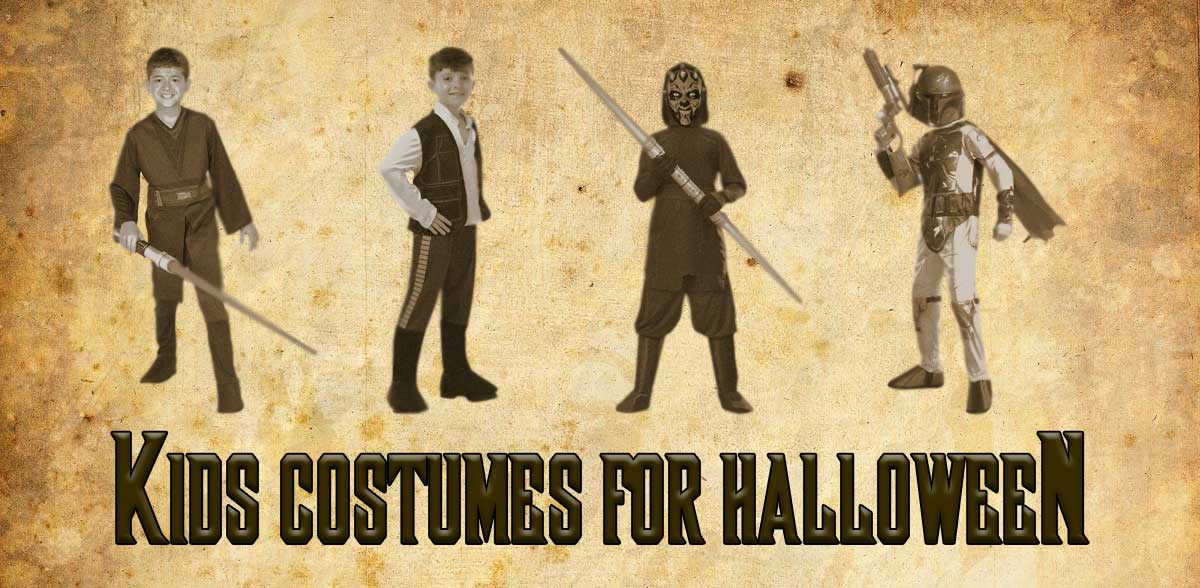 Star Wars Kids Halloween Costumes from JediRobeAmerica.com 2018