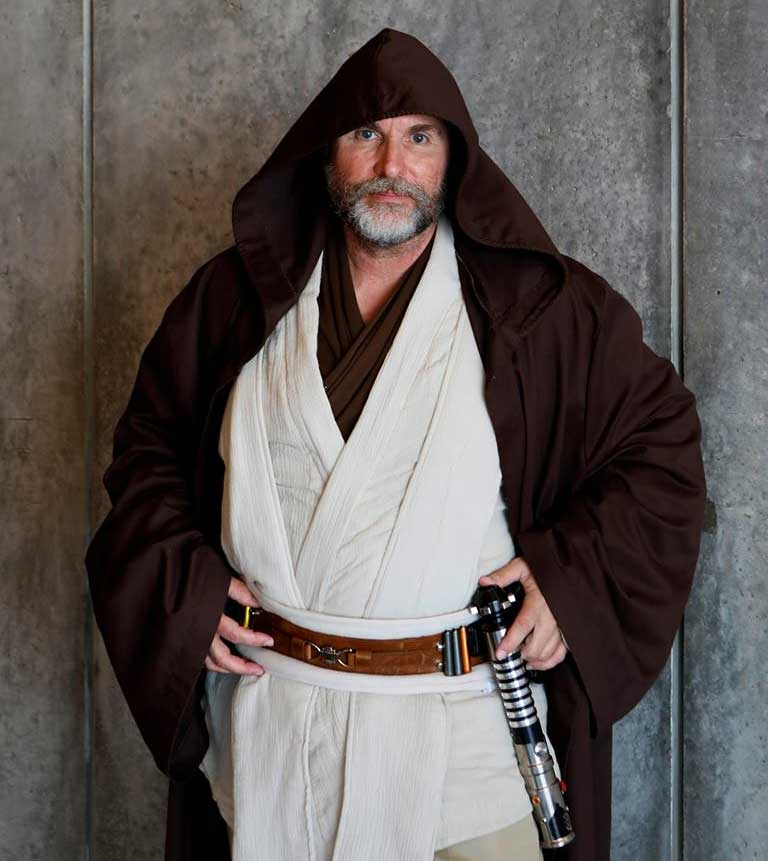 Paul Page as Obi Wan Kenobi