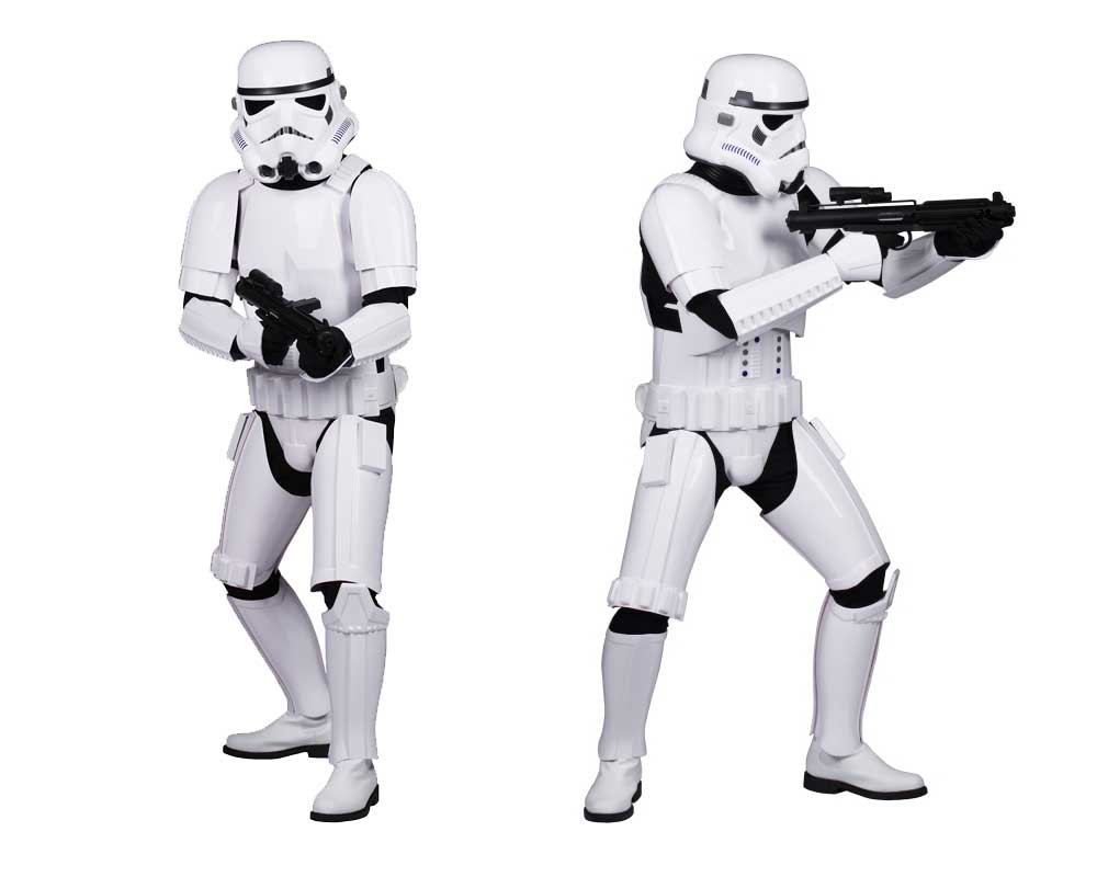 Stormtrooper armor costume guide help fitting
