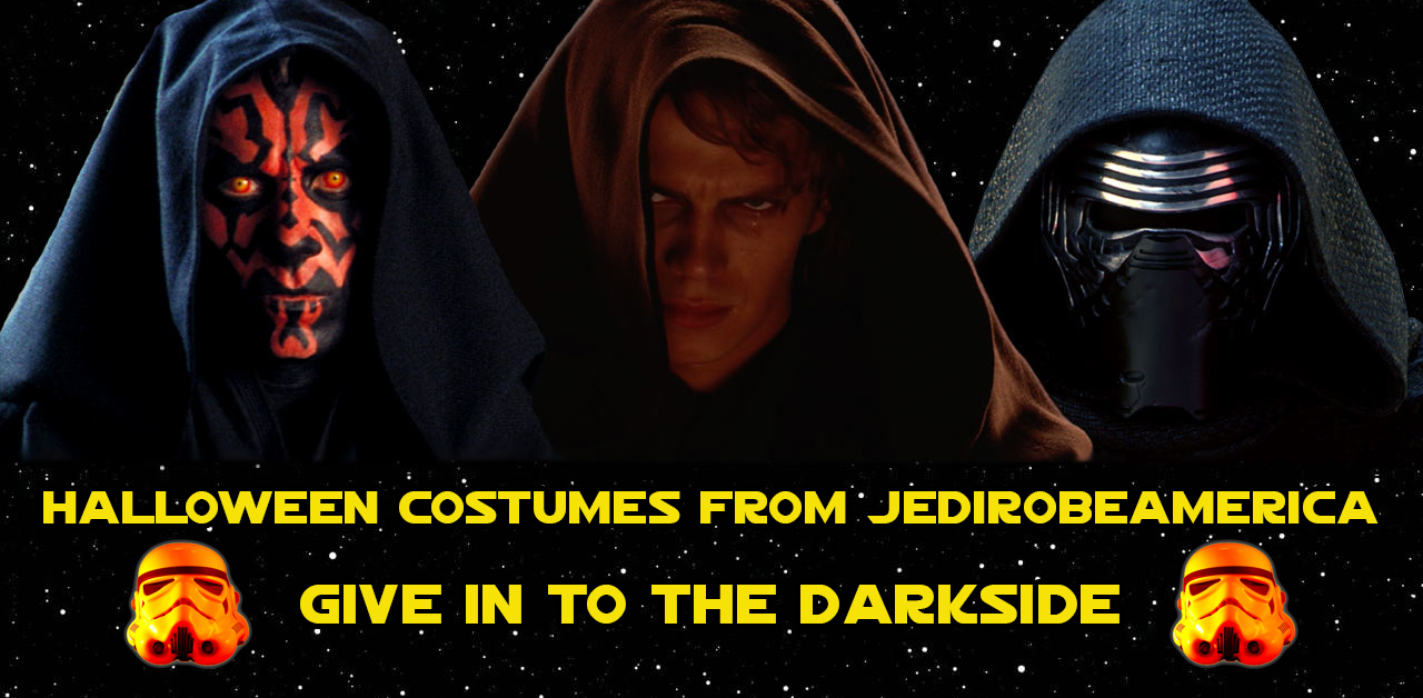 ... Darth Maul costumes HERE. Give In To The Darkside Halloween 2017 at JediRobeAmerica.com  sc 1 st  Jedi Robe America & STAR WARS COSTUMES: - Darth Maul Costumes for Halloween