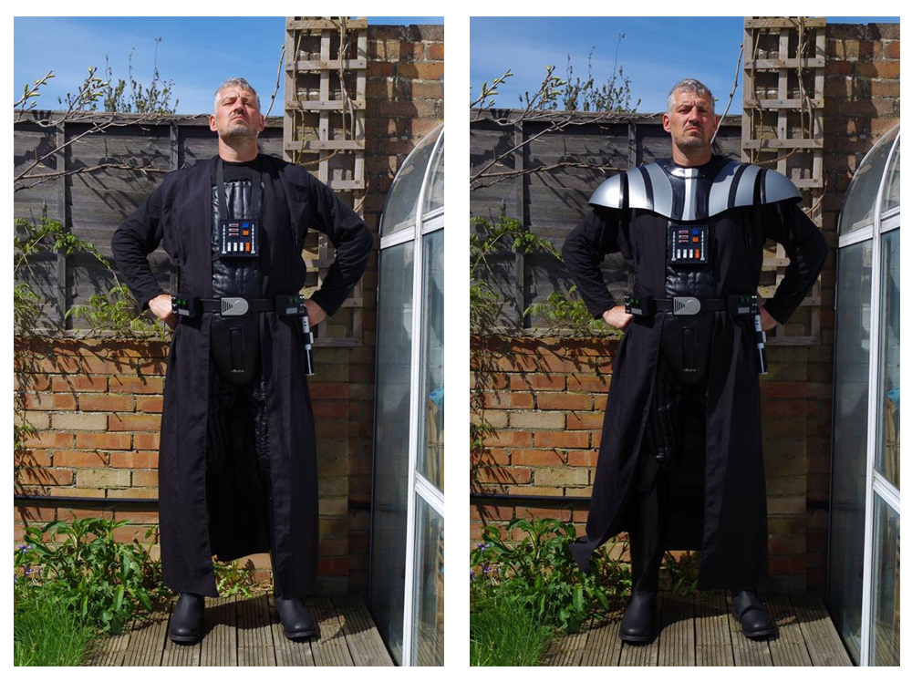 vader costume build lee review