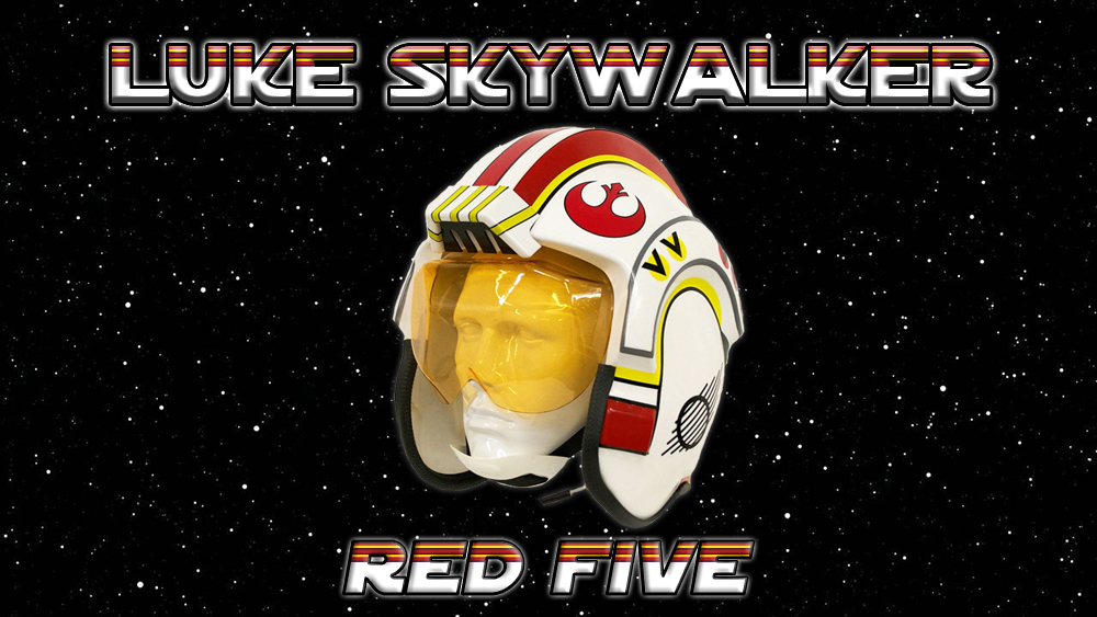 Luke Skywalker Red Five Helmet costume
