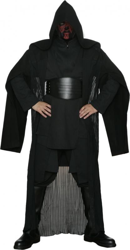 Star Wars Darth Maul Black Sith Costume including Replica Darth Maul Robe  and Belt f0b0e6b50