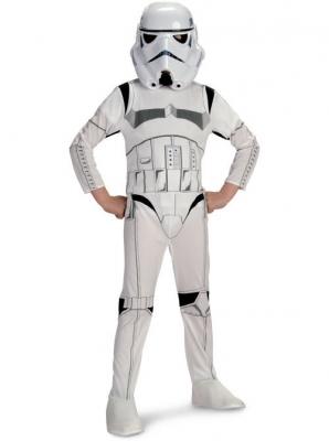 Star Wars Stormtrooper Costume - Child  sc 1 st  Jedi Robe America & STAR WARS COSTUMES: : Star Wars Stormtrooper Costume - Child