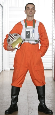 Star wars X-Wing pilot dress cosplay Made to order