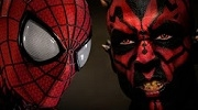 Spider-Man vs Darth Maul - Super Power Beat Down